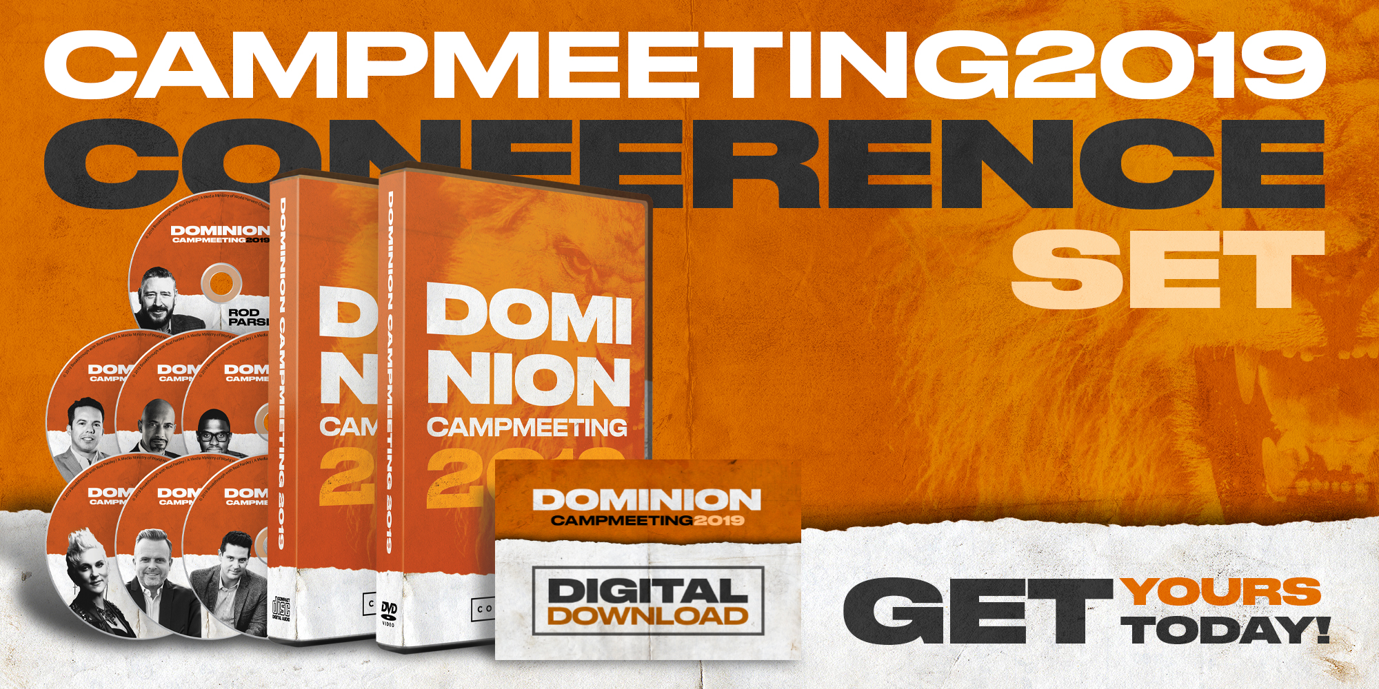 Dominion Camp Meeting 2019 - ConferenceSets | Get Yours Today