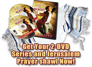 Get Your 2-DVD Series and Jerusalem Prayer Shawl Now!