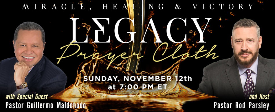 Worldwide Miracle, Healing and Victory Prayer Cloth Service | Sunday, December 4