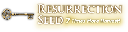 Resurrection Seed - 7 Times More Harvest!