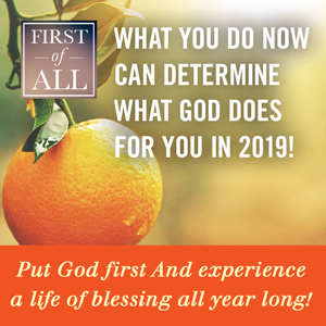 What You Do Now Can Determine What God Does For You In 2019!
