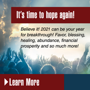 It's Time to Hope Again! What you do now, can change 2021 for the better!