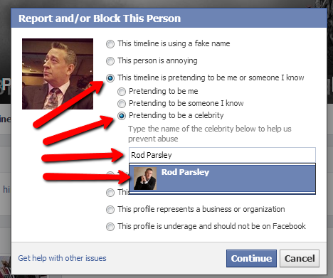 How to Report a Facebook Account