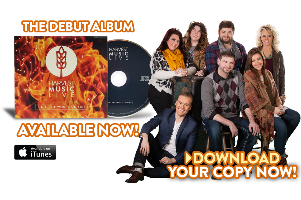 Harvest Music Live | Light the World on Fire - AVAILIABLE NOW