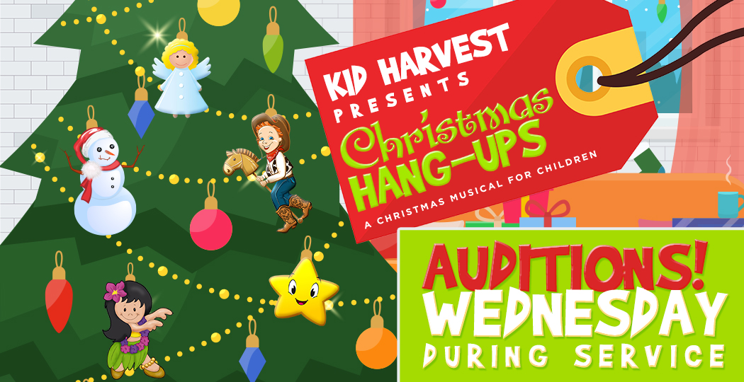 Kid Harvest Christmas Play Auditions | World Harvest Church