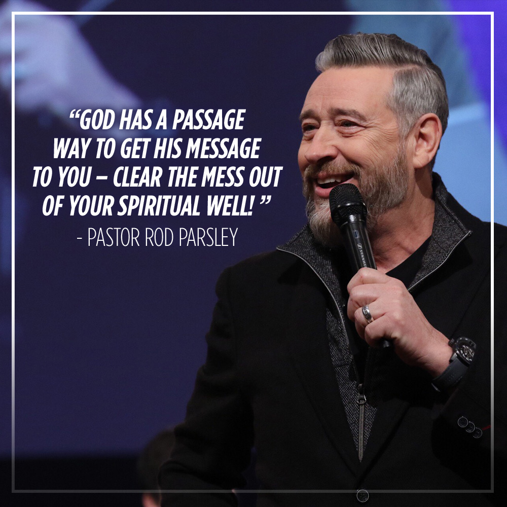 """I don't really care what you say about me, because I know what God has said about me!"" – Pastor Rod Parsley"