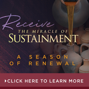 Receive the miracle of Sustainment