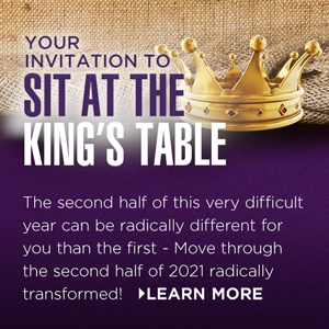 Invitation to sit at the king's table