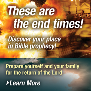These are the end times! Discover your place in Bible prophecy!
